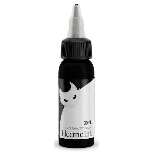 Tintas Electric Ink - ELECTRIC INK INDÚSTRIA E COMÉRCIO - Preto Tribal - 30ml