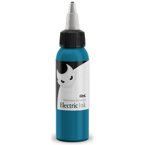 Tintas Electric Ink - ELECTRIC INK INDÚSTRIA E COMÉRCIO - Azul Turquesa - 60ml
