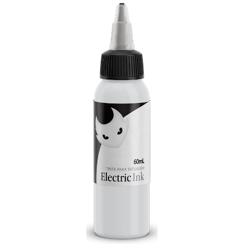 Tintas Electric Ink - ELECTRIC INK INDÚSTRIA E COMÉRCIO - Branco Real - 60ml