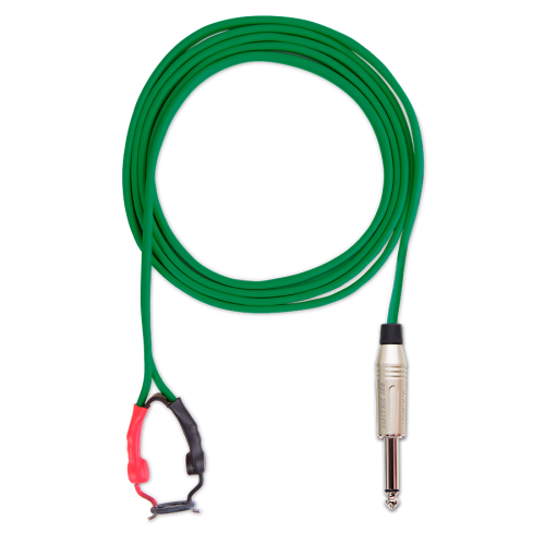 Cabos e Clip Cord - ELECTRIC INK INDÚSTRIA E COMÉRCIO - Clip Cord Pro Electric Ink Verde Band.