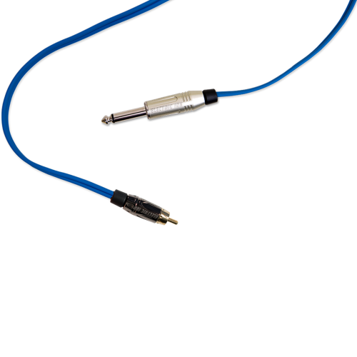 Cabos e Clip Cord - ELECTRIC INK INDÚSTRIA E COMÉRCIO - Cabo RCA Electric Ink - Azul Royal