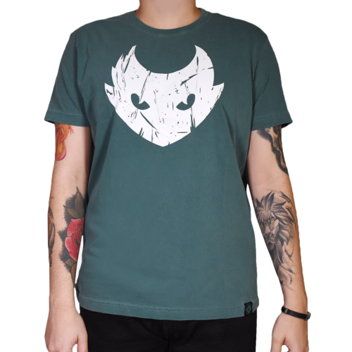 Grife  - ELECTRIC INK INDÚSTRIA E COMÉRCIO - Camiseta Electric Ink Lynx Verde - XGG