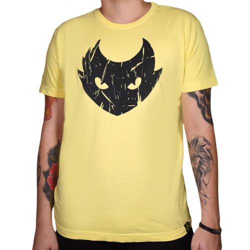 Grife  - ELECTRIC INK INDÚSTRIA E COMÉRCIO - Camiseta Electric Ink Lynx Amarelo - P